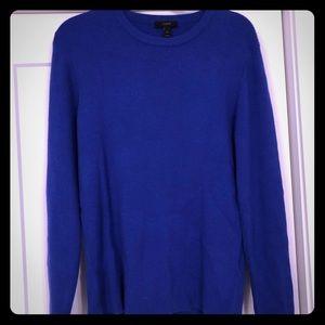 JCrew merino blend ribbed sweater